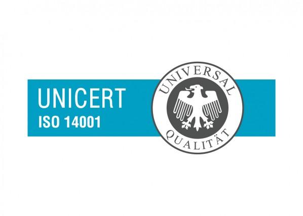 ISO 14001 UNICERT cert markica