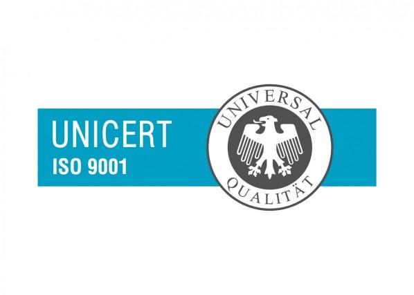 ISO 9001 UNICERT cert markica